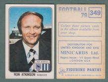 West Bromwich Albion Ron Atkinson 349